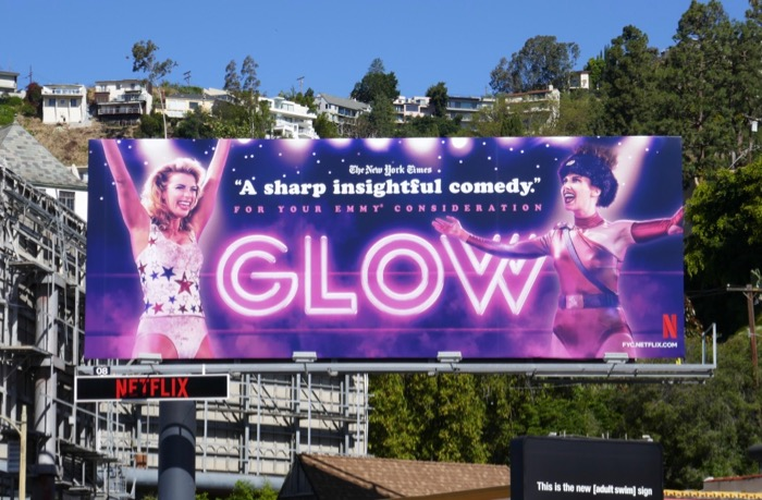 GLOW 2019 Emmy consideration billboard