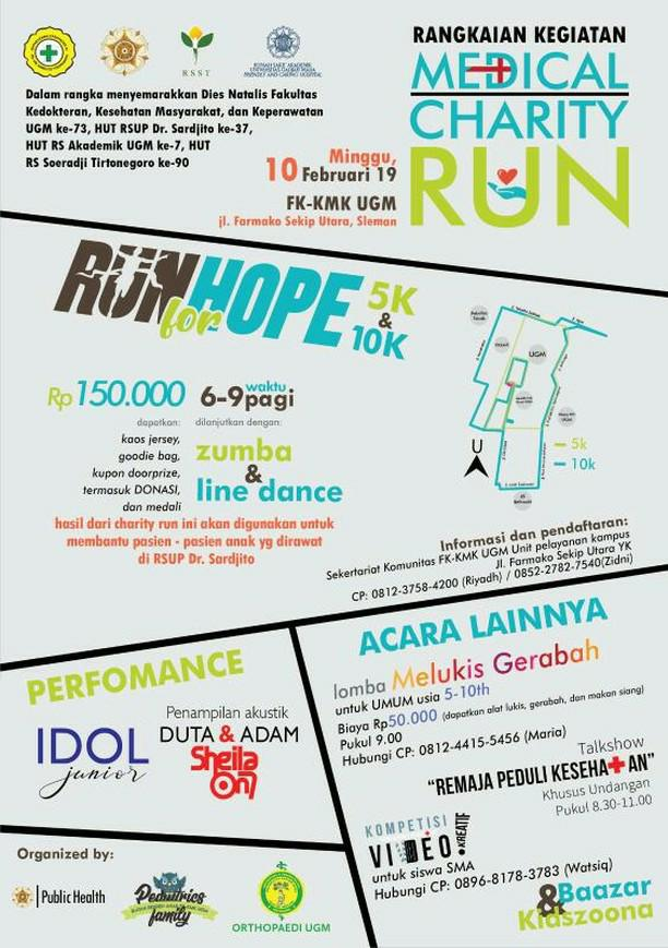 Medical Charity Run: Run for Hope • 2019