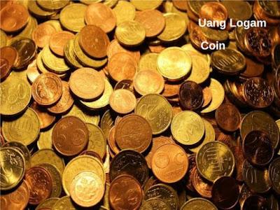 bahasa inggrisnya uang logam adalah coin