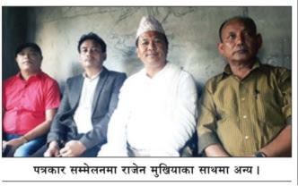 Rajen Mukhia, the Trinamul president in the hills
