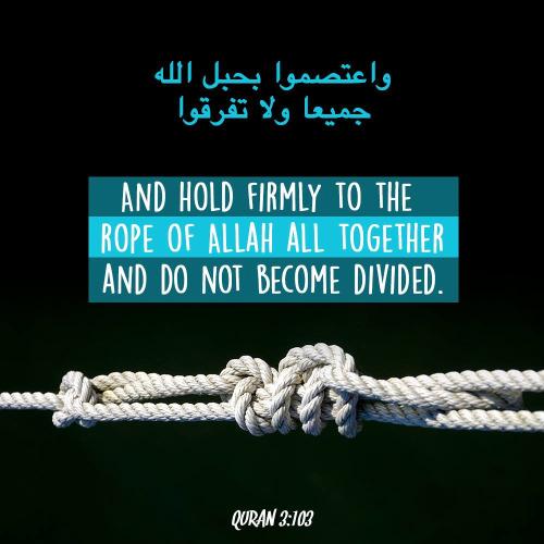 Tazkirah Jumaat #45 : Rope Of Allah