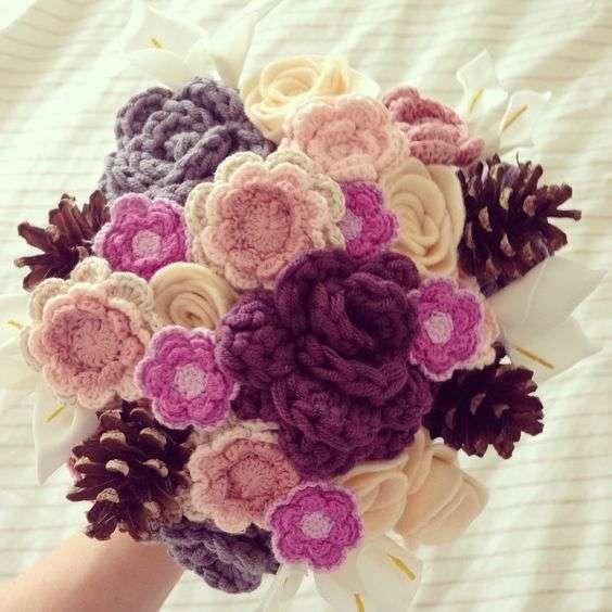 39 Ramos de novia a crochet