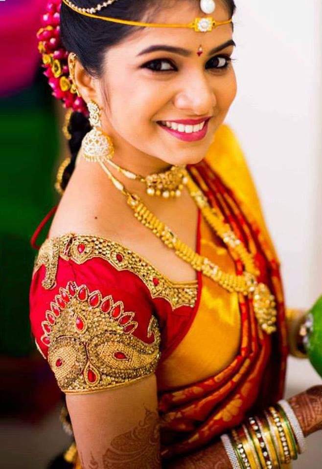 SouthIndian Bridal Blouse Designs