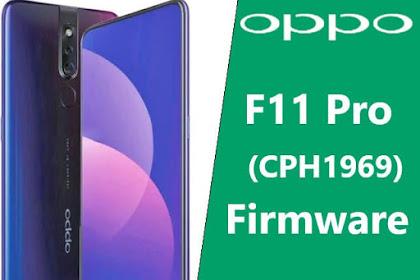 Firmware Oppo F11 Pro CPH1969 Mediatek Ofp File