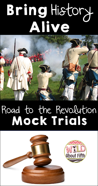 Boston Tea Party and Boston Massacre Classroom Mock Trials