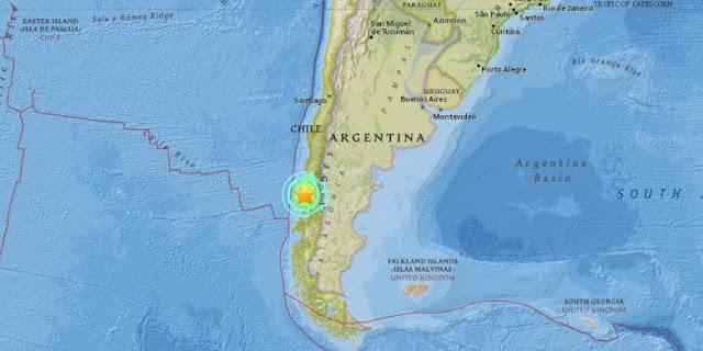 chile bencana gempa