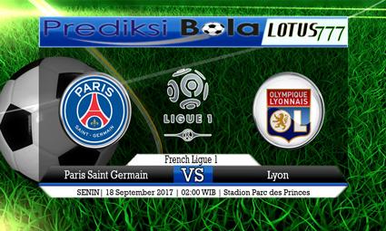 Prediksi Pertandingan antara Paris Saint Germain vs Lyon 18 September 2017