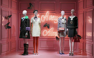 Green Pear Diaries, retail, pop up store, Gucci, Galerías Lafayette