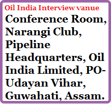 oil-india-interview-venue-freejobalert