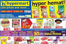 Katalog Promo Hypermart Weekday Terbaru 25 - 28 Maret 2019