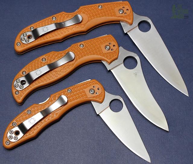 Spyderco HAP40 Stretch - Triplets 1
