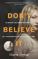 Vacation Reading List - Don't Believe It by Charlie Donlea