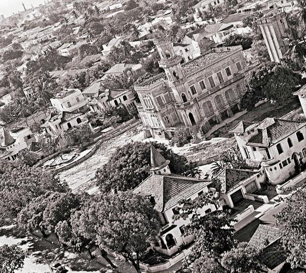 Castelo do Plácido de Carvalho na década de 1960