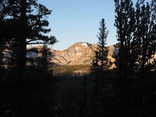 Clark Range im Morgenlicht
