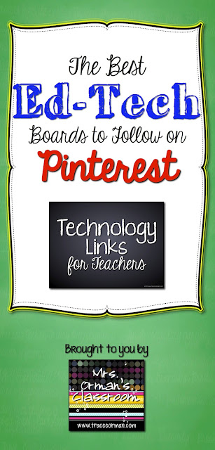 The Best Ed Tech Boards to Follow on Pinterest - My Top 8