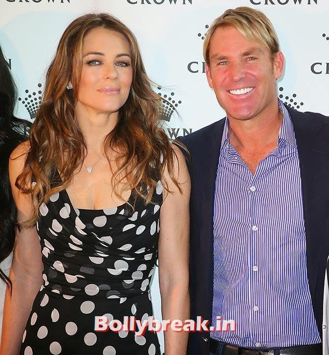 Shane Warne with Liz Hurley, List of Sports star break-ups Pictures - Cricket, Tennis, Golf, Basketball