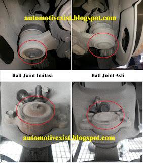 sering kali kita mendengar istilah dalam dunia otomotif mengenai barang atau suku cadang  Baguskah menggunakan Ball Joint Mobil Imitasi ?