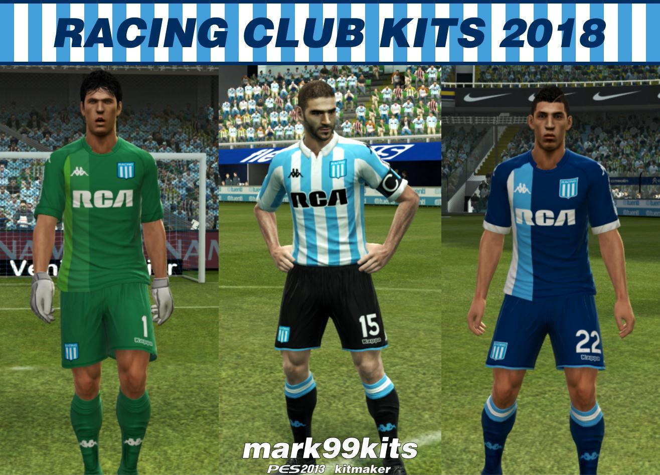 PES 2013 Racing Club Kits 2018 By mark99kits