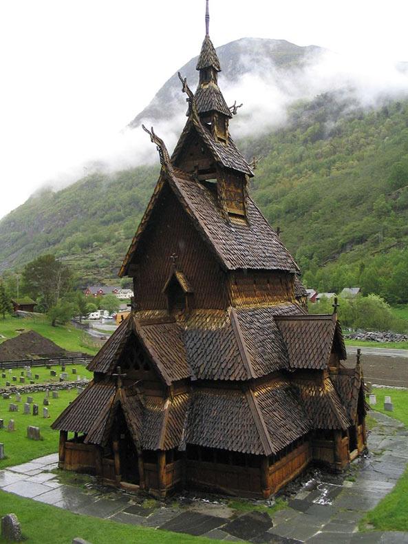 20 imagenes de la arquitectura de cuento de hadas de Noruega
