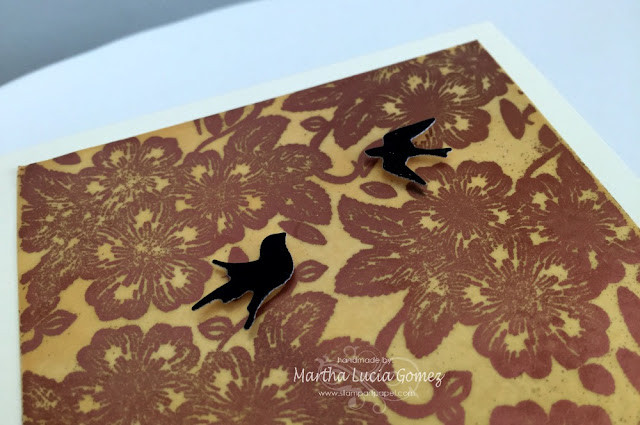 Double Embossing - Martha Lucia Gomez