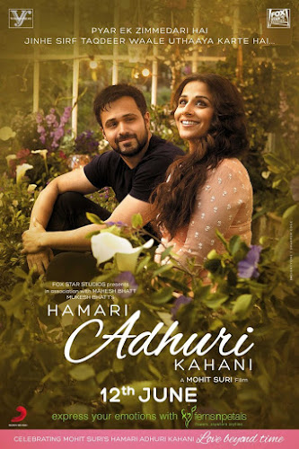 Hamari Adhuri Kahani (2015) Movie Poster No. 2