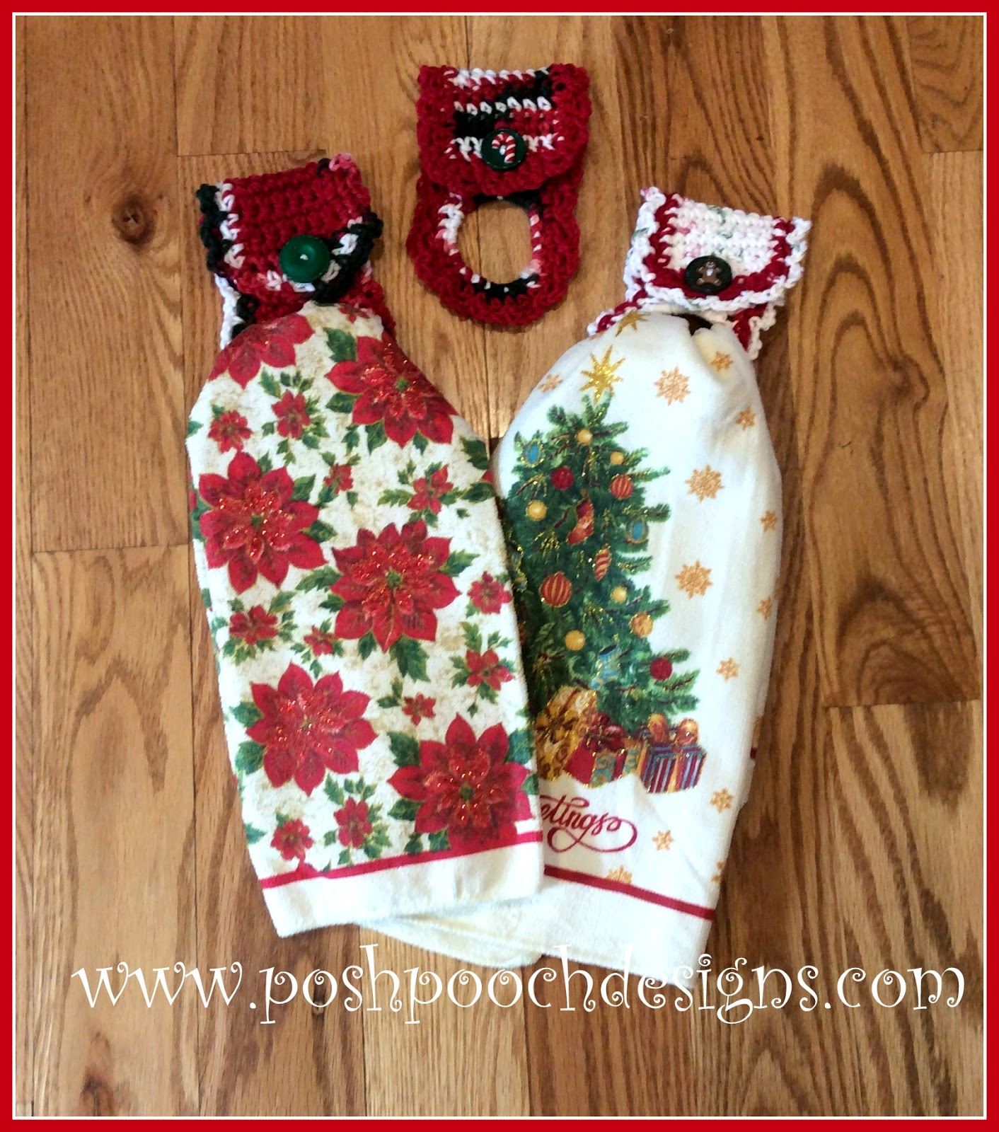 Posh Pooch Designs Dog Clothes: Dish Towel Holder Crochet Pattern ...