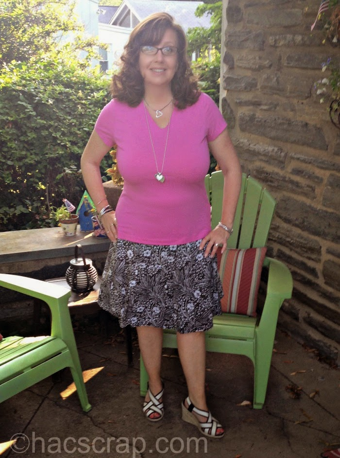 A-Line Summer Skirt | Mid-Life Mom Style
