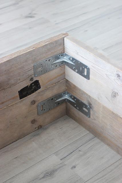 steigerhouten bedombouw steigerhout bed DIY maken klussen karwei
