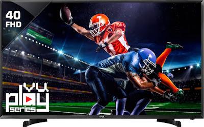 Vu 102cm (40inch) Full HD LED TV