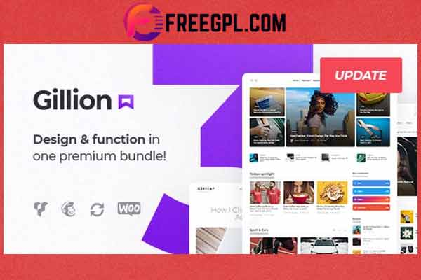 Gillion   Multi-Concept Blog/Magazine & Shop WordPress AMP Theme Free Download
