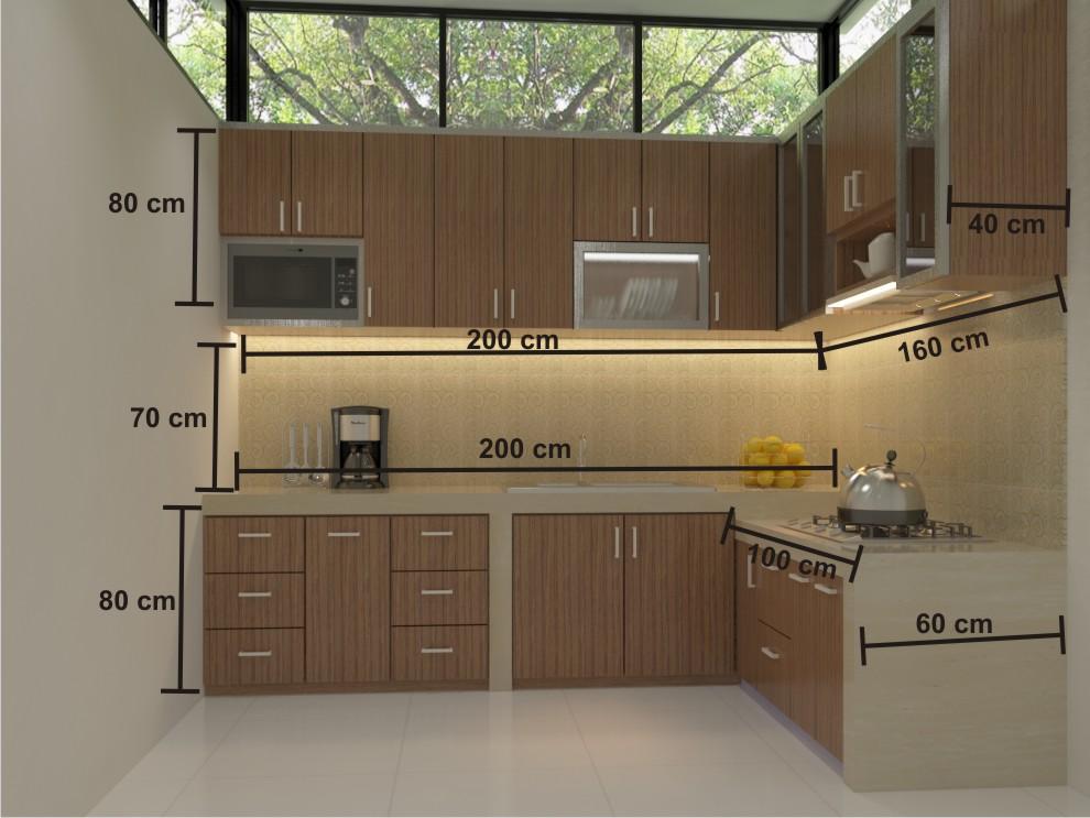 Menghitung Perkiraan Berapa Harga Kitchen Set Dapur