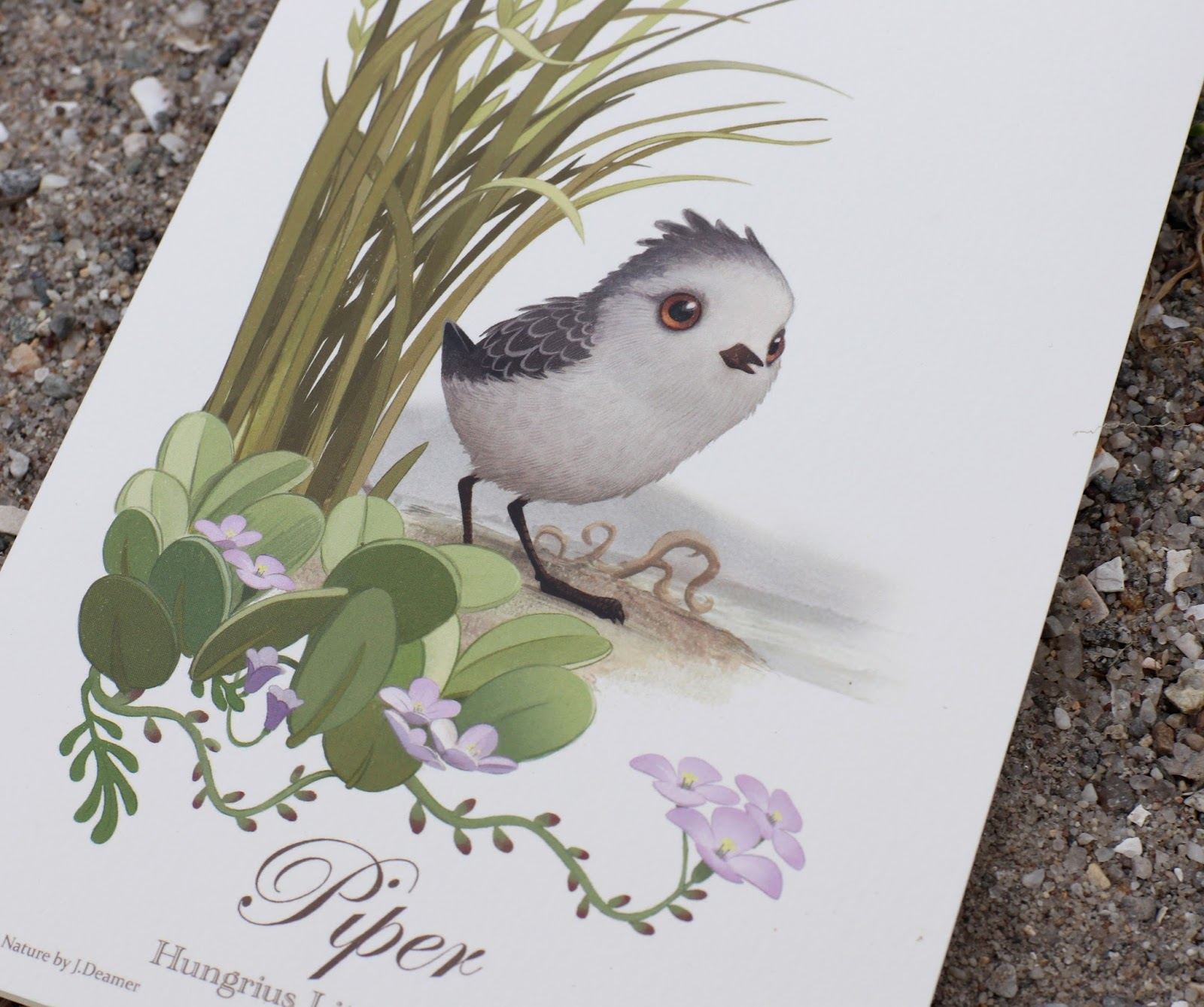 Piper Pixar Studio Store Greeting Card Art by Jason Deamer
