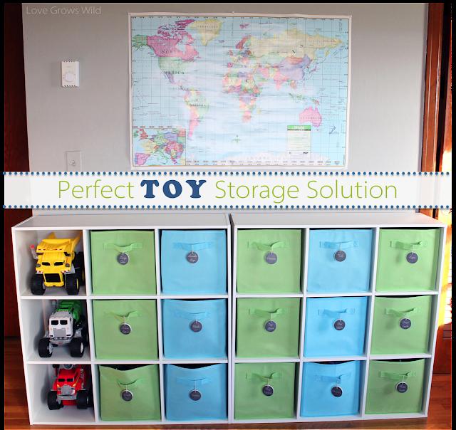 Toy Storage Solution