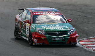 The Vauxhall Vectra in which Giovanardi won the 2007 British Touring Car Championship