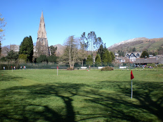 Pitch and Putt at White Platts Recreation Ground in Ambleside