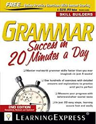 GRAMMAR:- SUCCESS IN 20 MINUTES A DAY