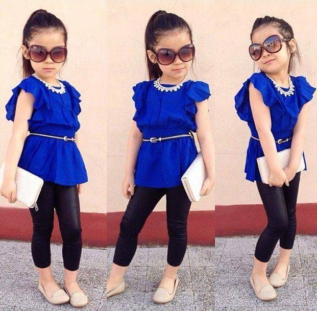 little girls taking fashion to another level