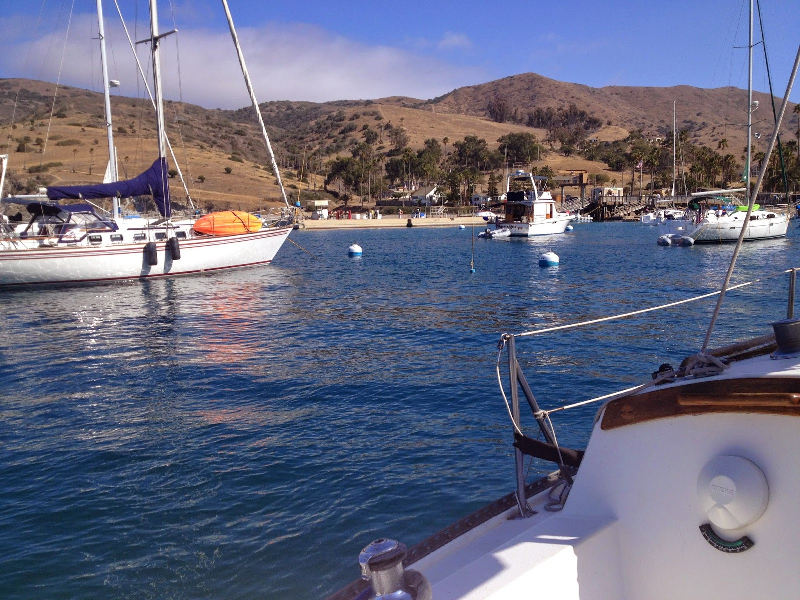 anchoring at catalina island