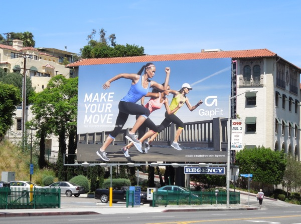 Gap Fit Make Your Move 2013 billboard