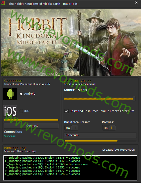 the hobbit kingdoms of middle-earth mithril hack