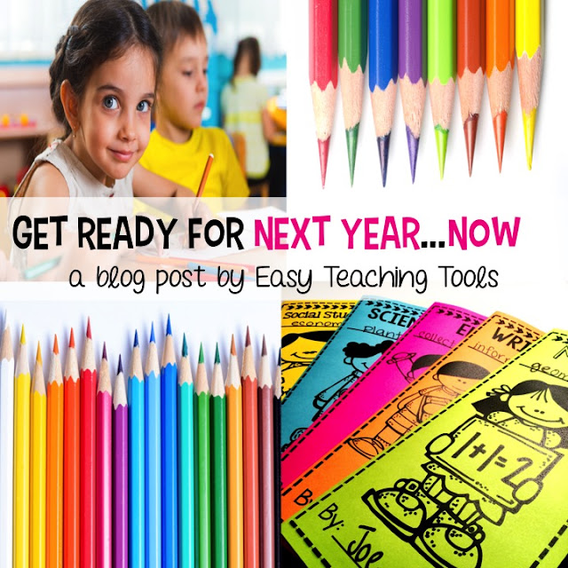 There's so much going on at the end of the year between report cards, filing cumulatives, cleaning, and so much more.  While you've still got some parent volunteers and a class full of kids, put them to work in a way that will really help you start next school year off organized and prepared.