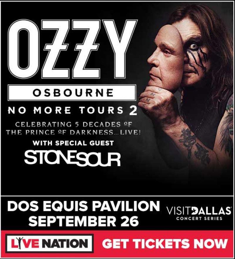 HEAVY-ROCK BOOTLEGS: Ozzy Osbourne:2018-09-26-Dos Equis Pavilion