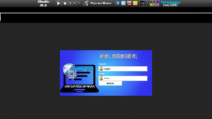 Player Administrável para Rádio e Web Rádio