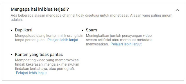 Dismon Channel YouTube Gara - gara SPAM