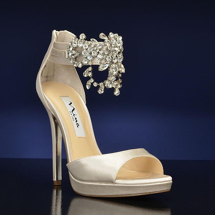 25d077ba9dc Utterly Gorgeous Nina Bridal Shoes Charming