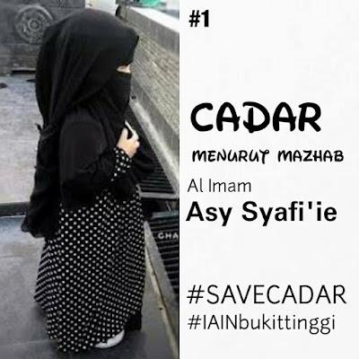 CADAR WAJIB MENURUT MADZHAB SYAFI'I