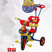pmb bmx 922 sepeda roda tiga anak