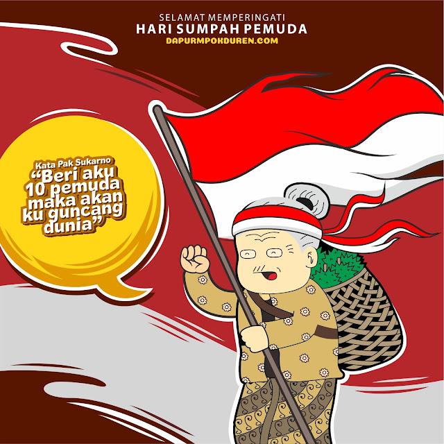 Memperingati 90 Tahun Sumpah Pemuda Indonesia