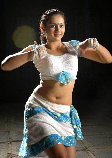 Desi indian tamil telugu kannada malayalam hindi horny cheating wife vanitha wearing blue colour saree showing big boobs and shaved pussy press hard boobs press nip rubbing pussy masturbation - 1 5