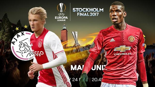 Ajax x Manchester United - Final da Europa League 2017 - Data, horário e TV
